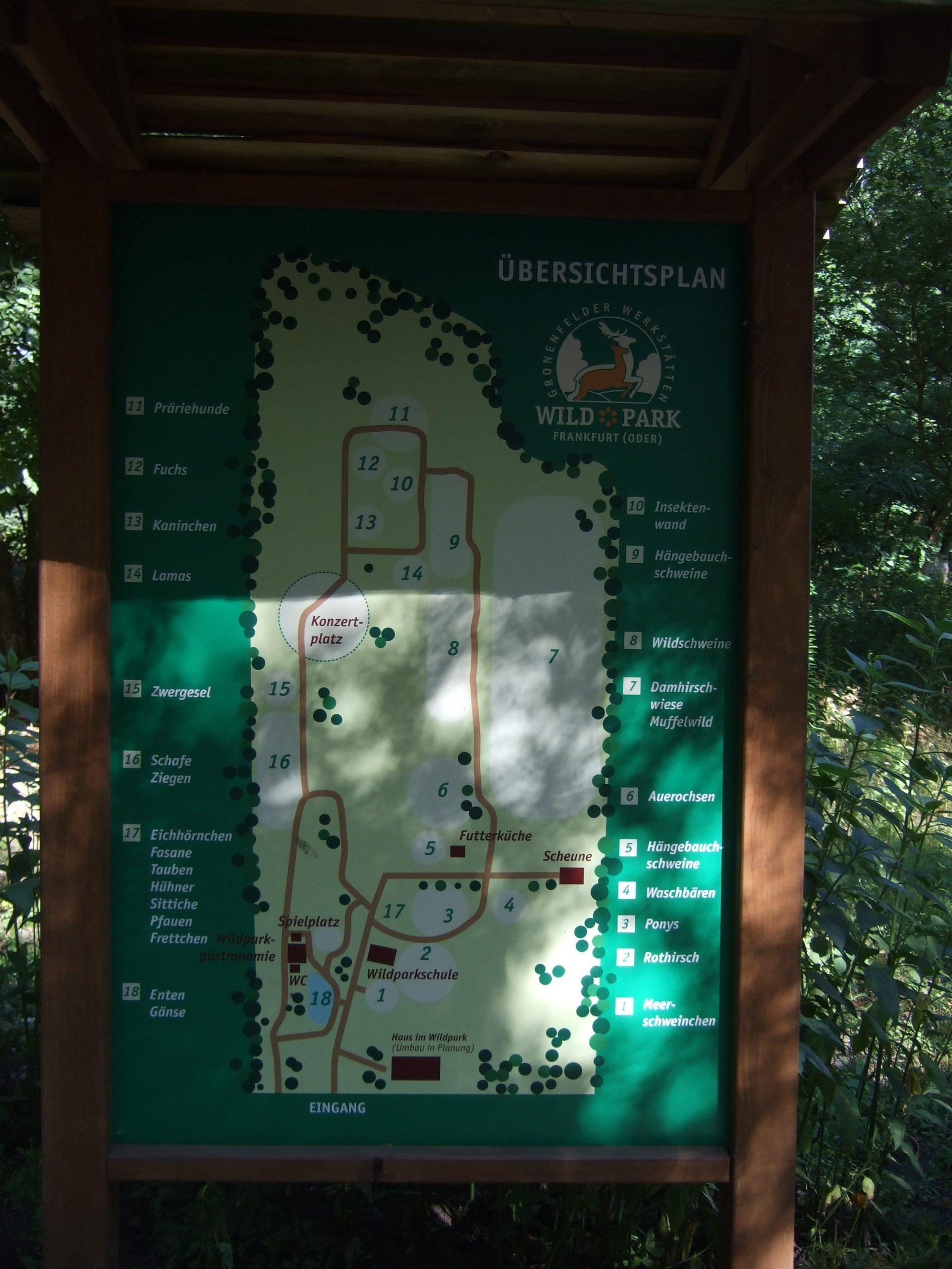 Wildpark Frankfurt (Oder) - Wikiwand ganzes Wildpark Frankfurt Oder Öffnungszeiten