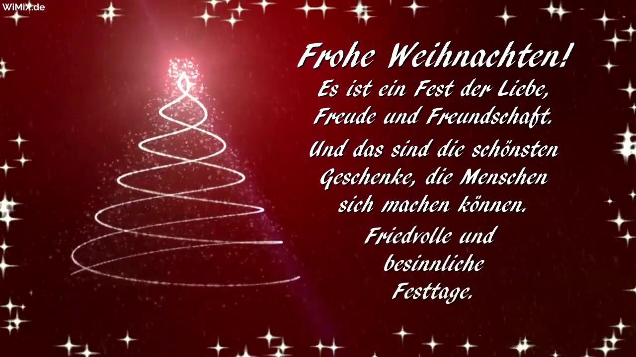 Wimix.de →🎄 Frohe Weihnachten Free Download Whatsapp Status Merry  Christmas German Weihnachtsgrüße innen Kostenlose Weihnachtsmails