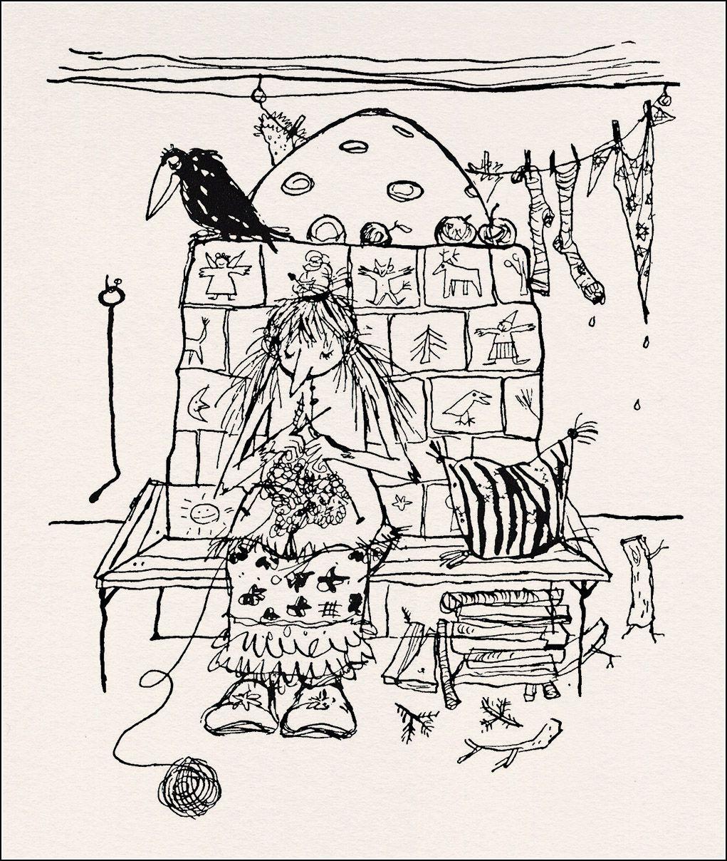 Winnie Gebhardt-Gayler, Otfried Preussler, Die Kleine Hexe ganzes Die Kleine Hexe Ausmalbilder