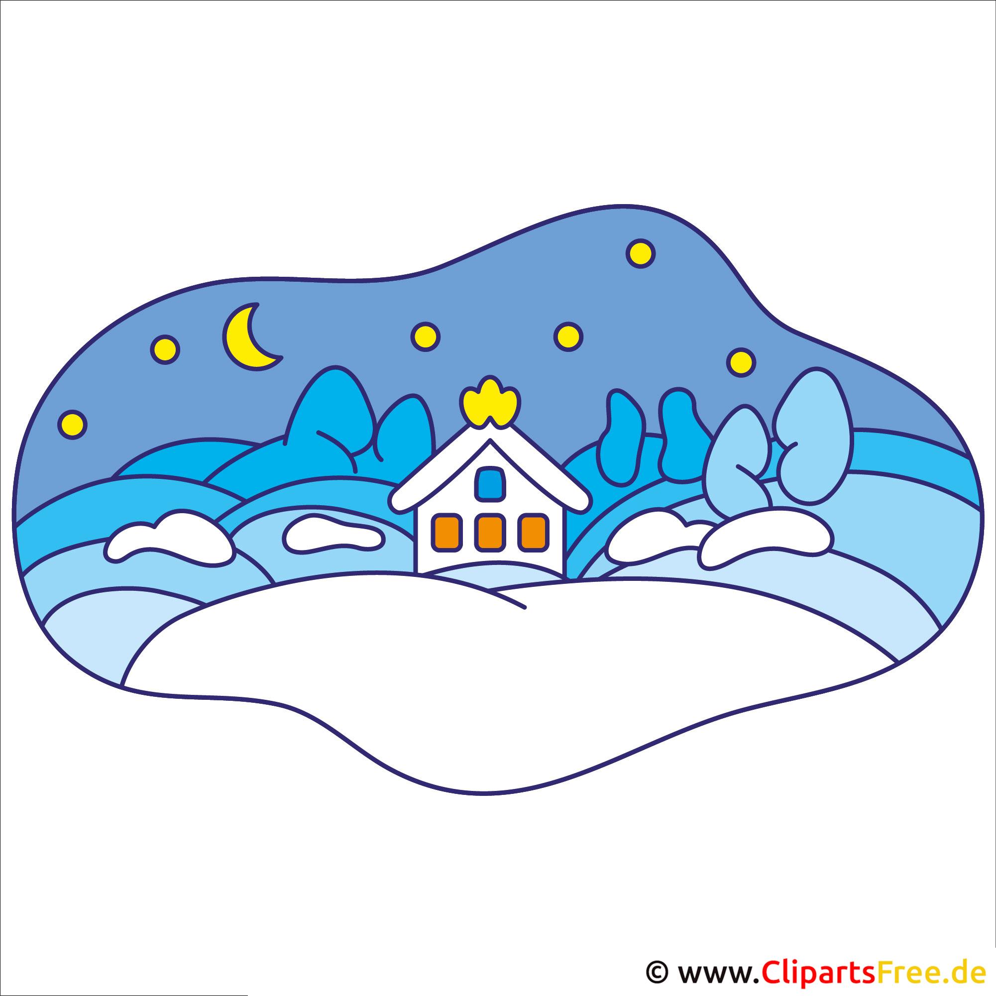 Winter Clipart - Silvester Cliparts Kostenlos innen Cliparts Winter Kostenlos