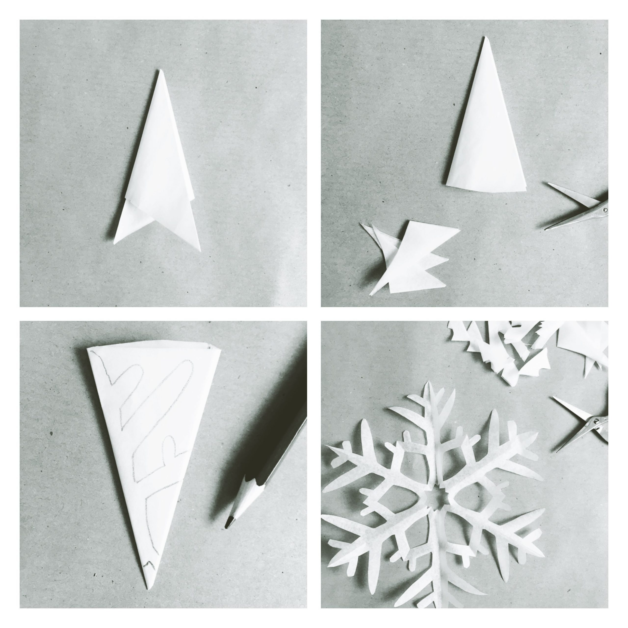 Winterkind // Schneesterne Schneiden // Diy - Lieblingsbande bei Schneeflocken Aus Papier Schneiden