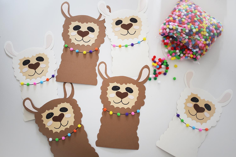 Wir Feiern Eine Alpaka-Geburtstagsparty - Das Braucht Ihr ganzes Basteln Mit Kindern Geburtstagsparty
