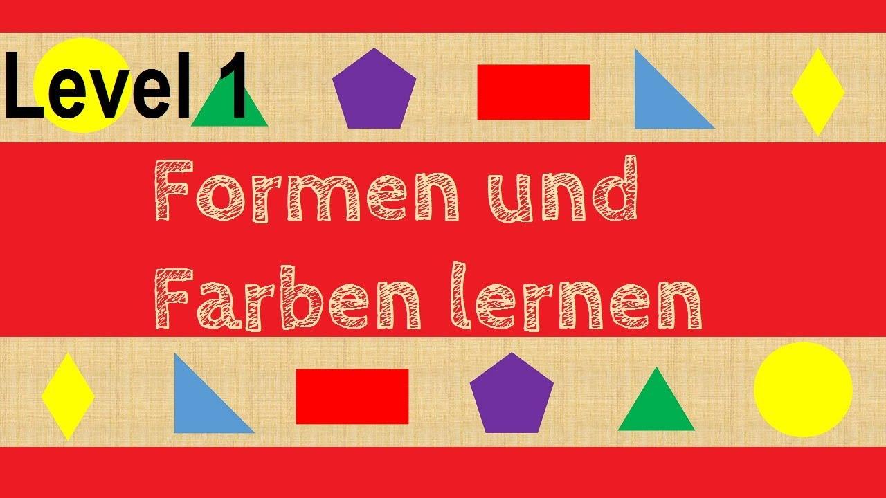 Wo Ist Das Dreieck? (Level1) Geometrische Formen Und Farben Erkennen ganzes Geometrische Formen Im Kindergarten