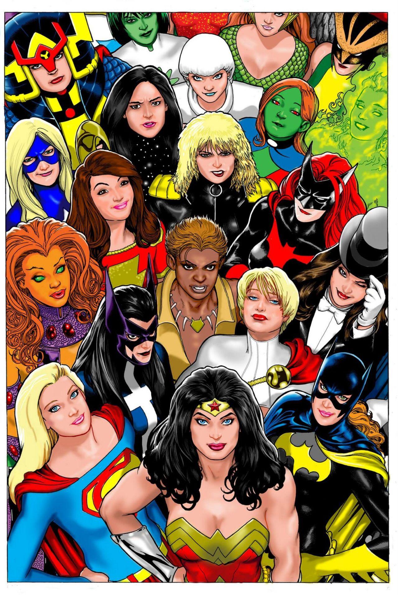 Women Of The Dc Universe - Kevin Maguire (Mit Bildern innen Comicfiguren Frauen