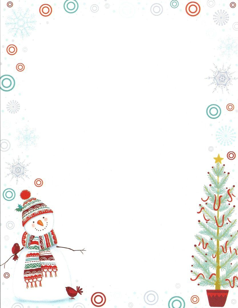 Word Vorlage Weihnachten Briefpapier (With Images bei Weihnachten Briefpapier