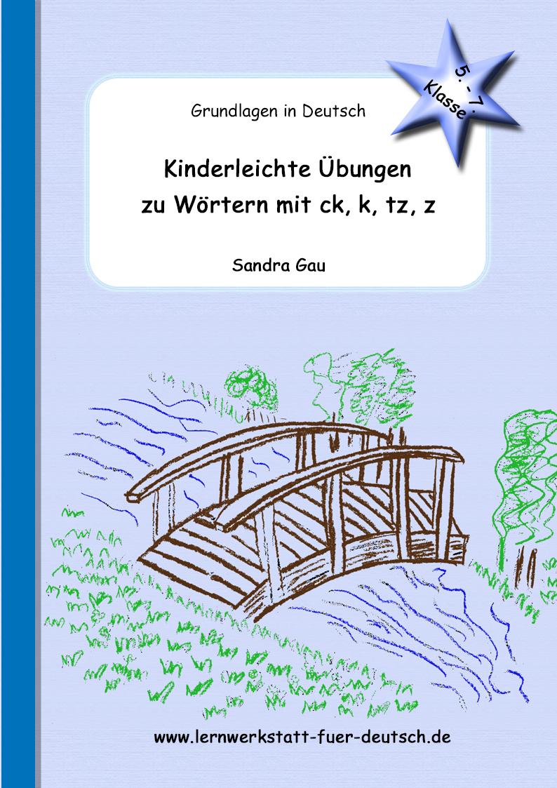 Wörter Mit Tz, Z Im In- Und Auslaut - Lernwerkstatt Für Deutsch bei Deutsche Worte Mit Y