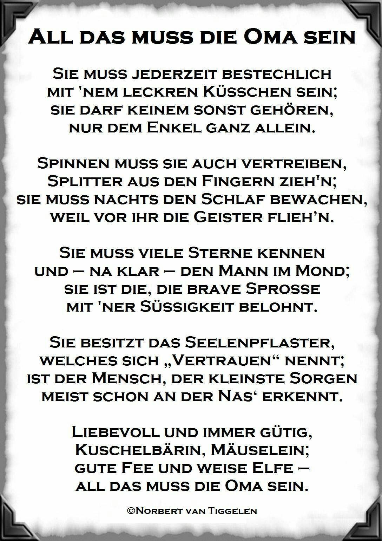 Wunderschönes Gedicht Über Das Oma Sein (Mit Bildern ganzes Gedichte Für Die Beste Oma Der Welt Zum Geburtstag
