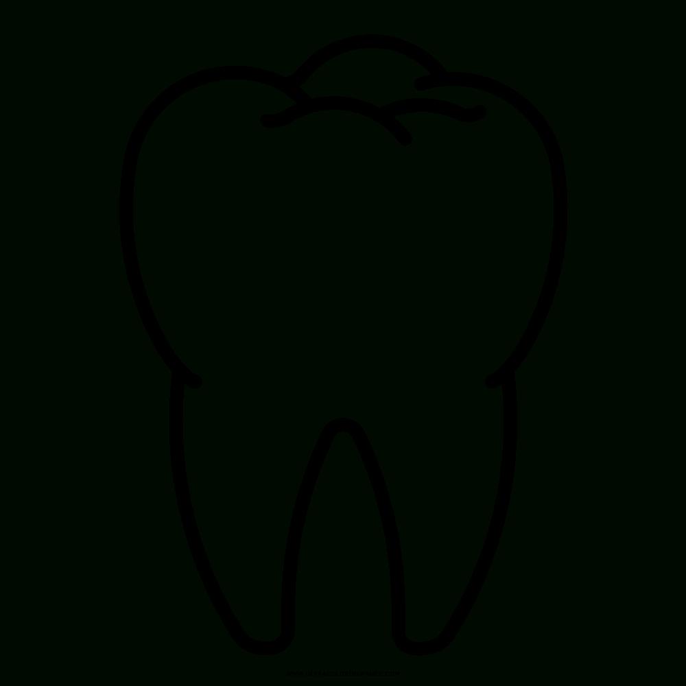 Zahn Ausmalbilder - Ultra Coloring Pages innen Ausmalbild Zahn
