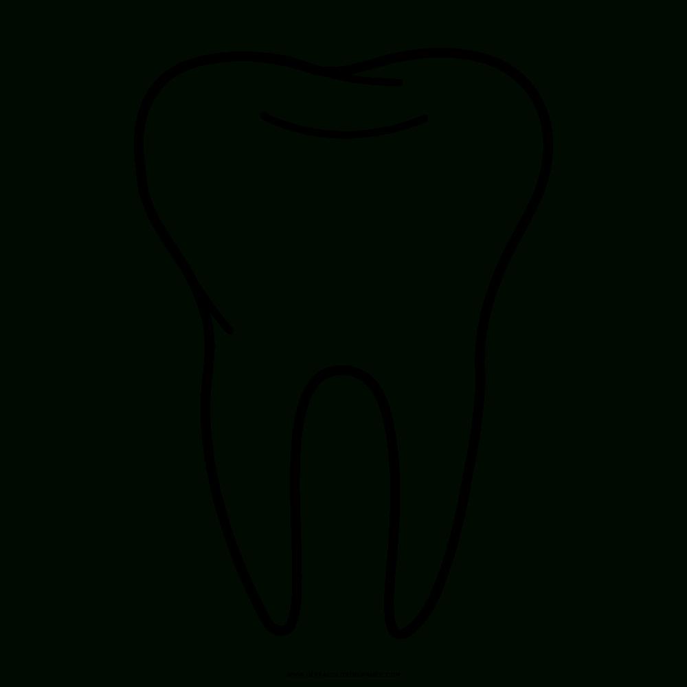 Zahn Ausmalbilder - Ultra Coloring Pages mit Ausmalbild Zahn