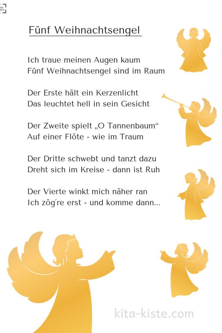 Zauberhafte Fingerspiel-Gedichte, Für #kindergarten Und ganzes Weihnachtsgedichte Grundschule