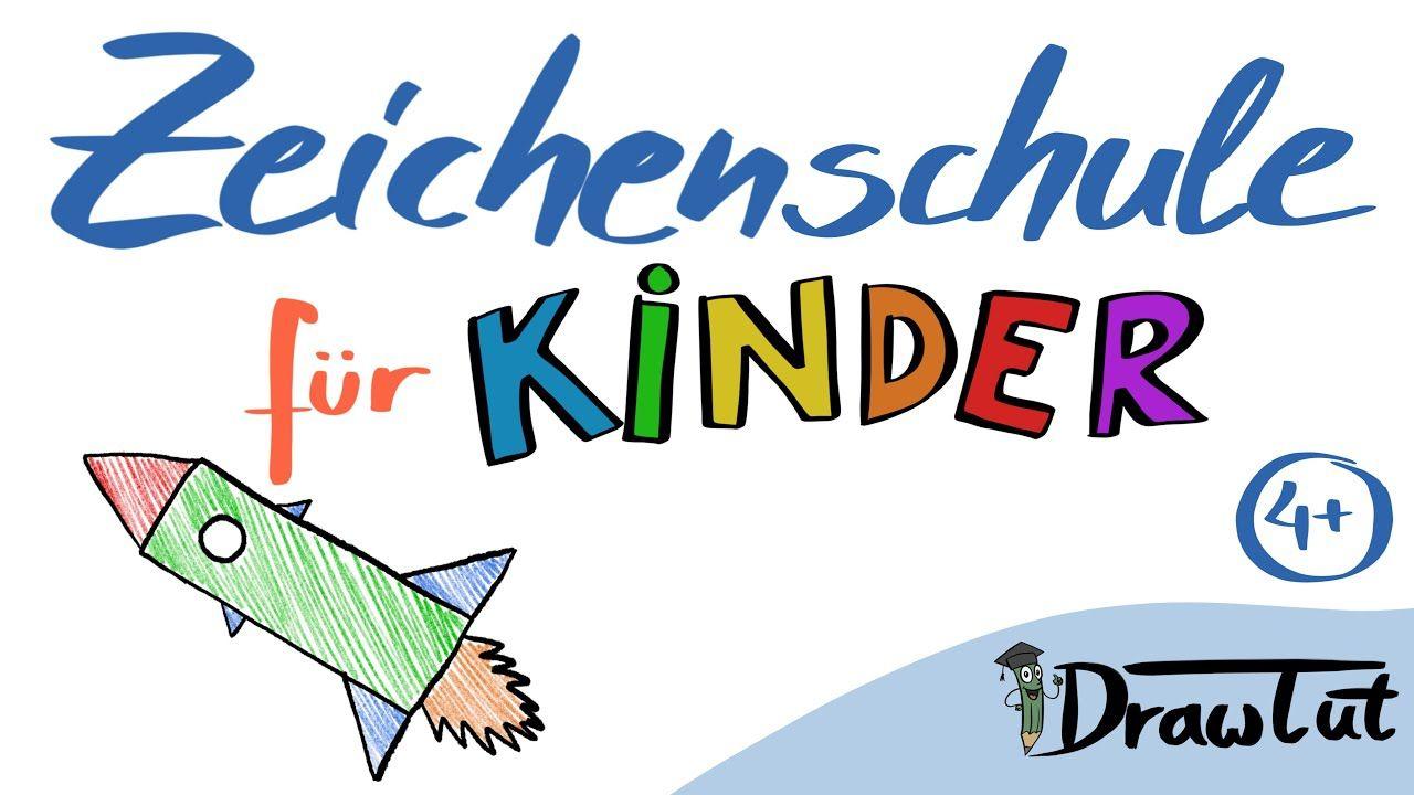 Zeichenschule Für Kinder - Rakete Zeichnen - Malen Lernen für Vorlage Rakete Malen