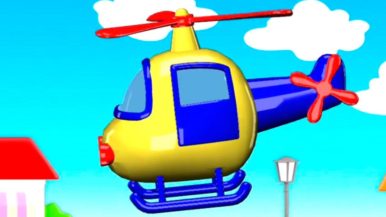 Zeichentrickfilm - Unsere Spielsachen - Hubschrauber - Build And Play  Puzzles mit Hubschrauber Für Kinder