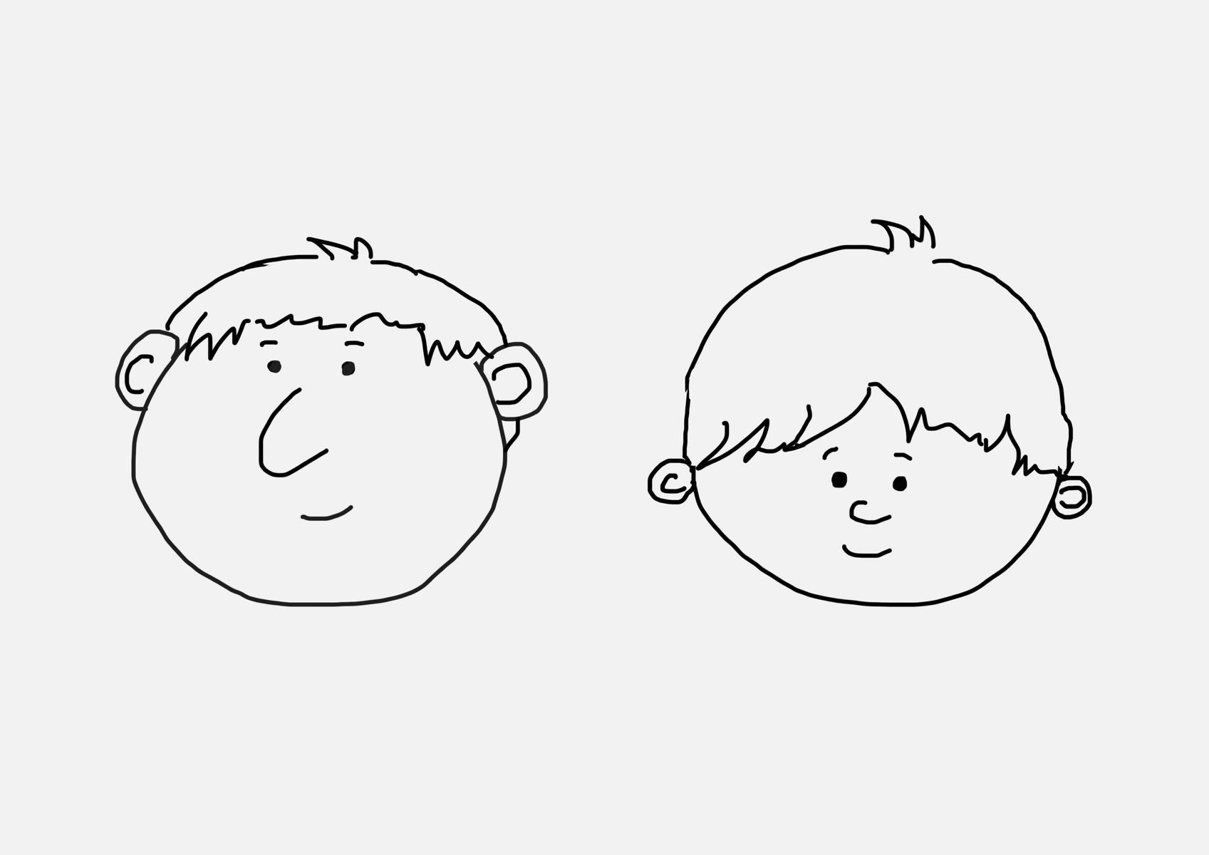 Zeichnen Lernen - Einfache Gesichter - Artandalmonds in Comicfiguren Zeichnen Lernen