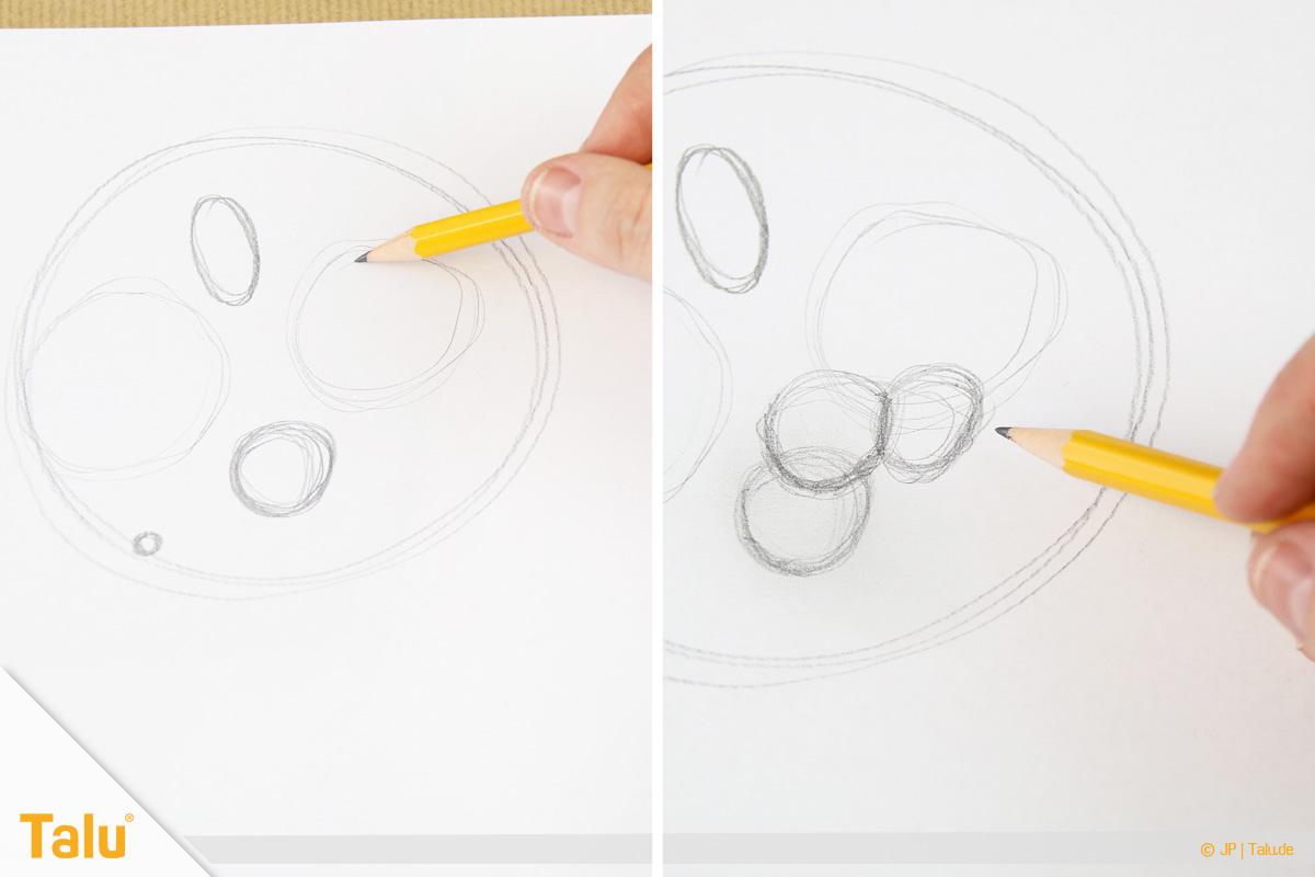 Zeichnen Lernen Für Anfänger - Tipps Und Tricks - Talu.de bestimmt für Kreise Zeichnen