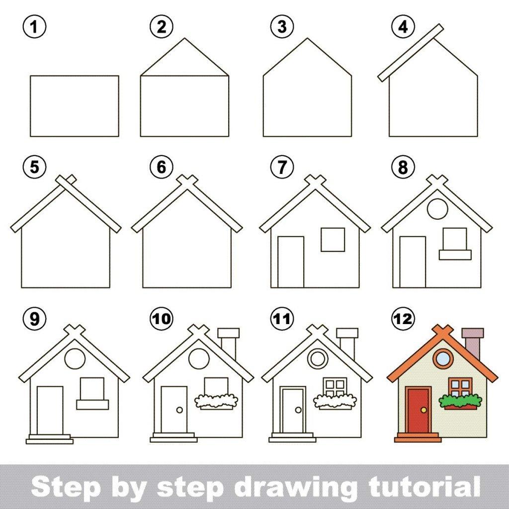 Zeichnen Lernen Für Kinder: Schritt-Für-Schritt-Anleitungen für Kinder Lernen Zeichnen Und Malen