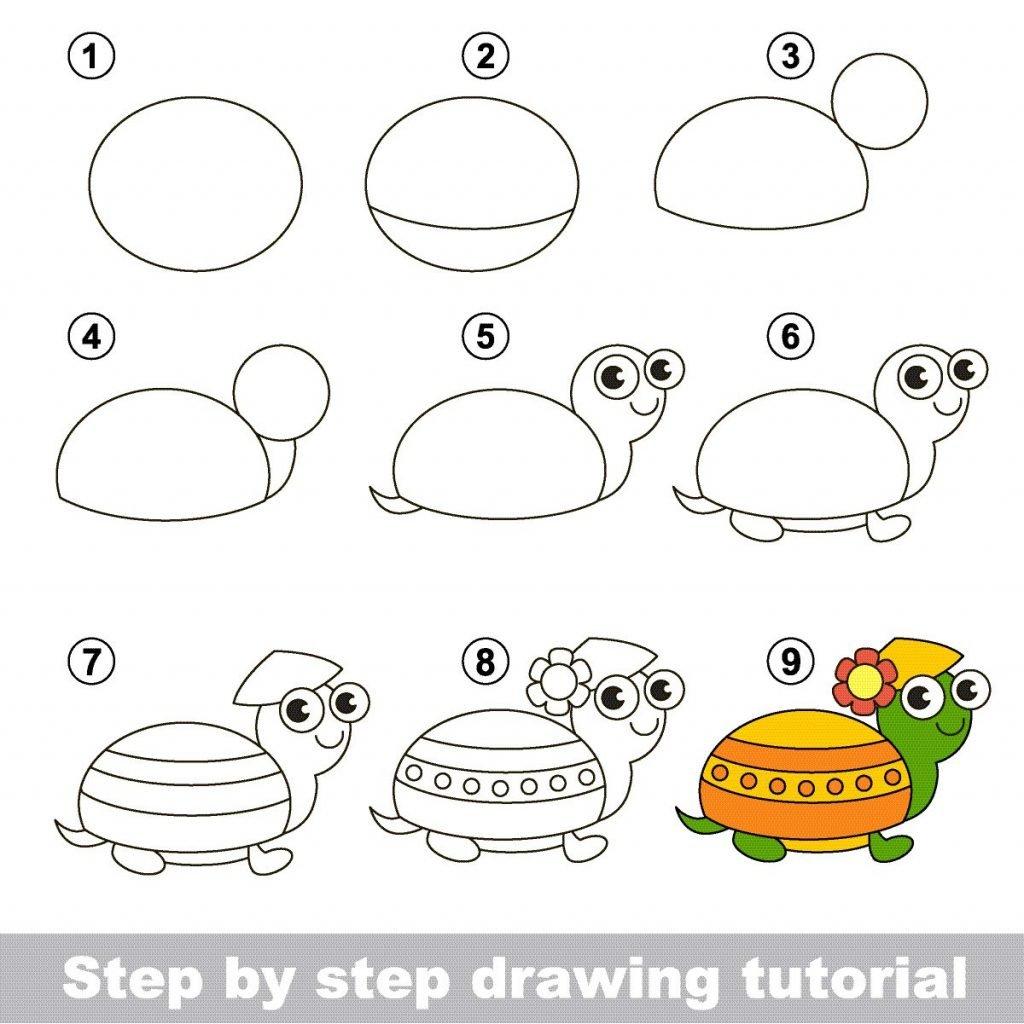 Zeichnen Lernen Für Kinder: Schritt-Für-Schritt-Anleitungen über Kinder Zeichnen Lernen
