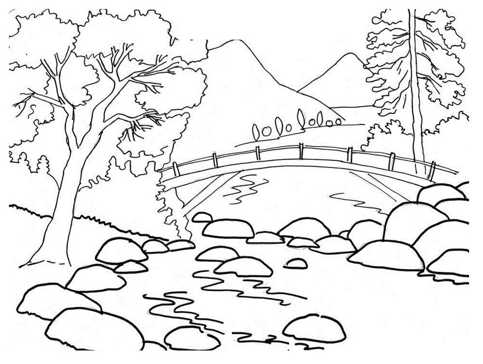 Zeichnen Lernen Für Kinder Und Anfänger - 22 Tolle Ideen ganzes Einfache Landschaften Zeichnen