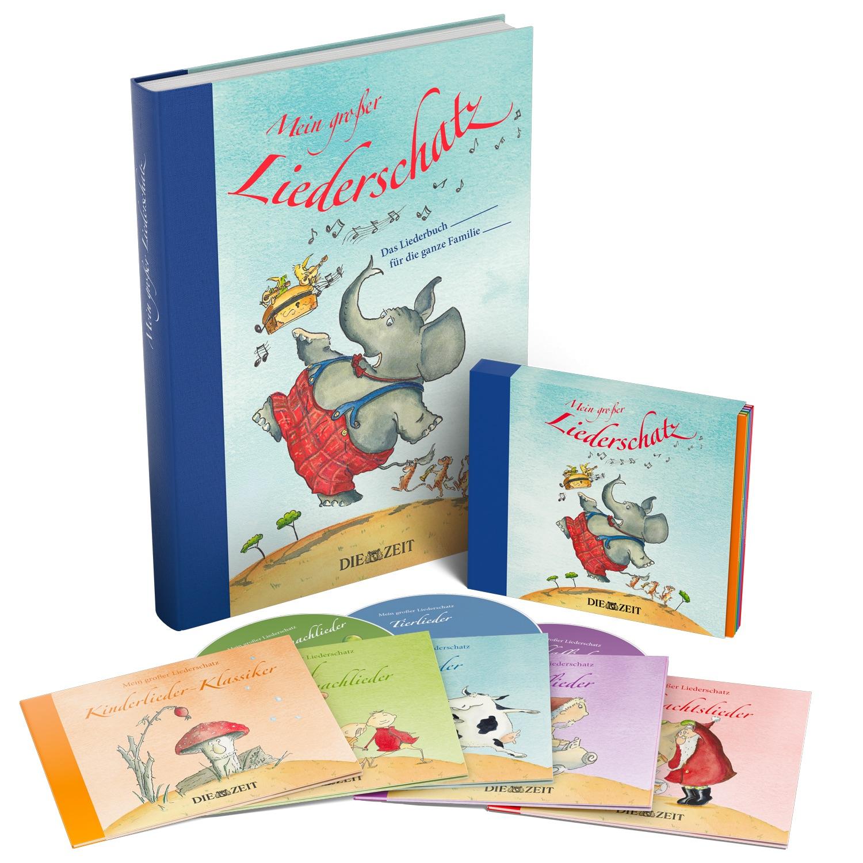 Zeit-Edition »Mein Großer Liederschatz« innen Buch Kinderlieder Aus Der Guten Alten Zeit