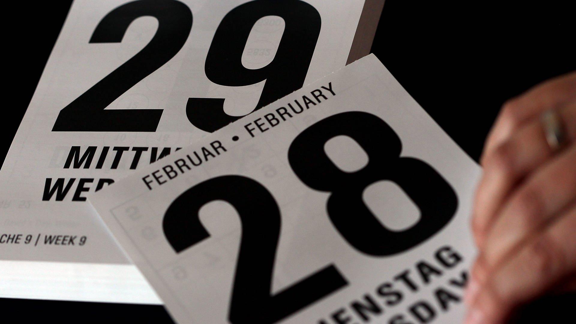 Zeitrechnung Warum Ist Der Februar So Kurz? | 1000 Antworten mit Wie Viele Monate Haben 28 Tage