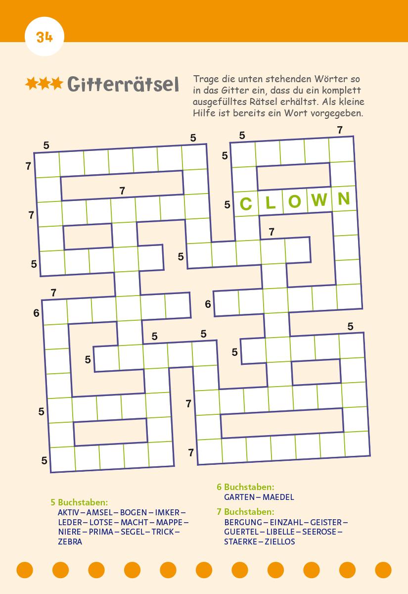 Zeitschrift Kreuzworträtsel 7 Buchstaben | Spur Mit 7 über Rätsel Lösen Kreuzworträtsel