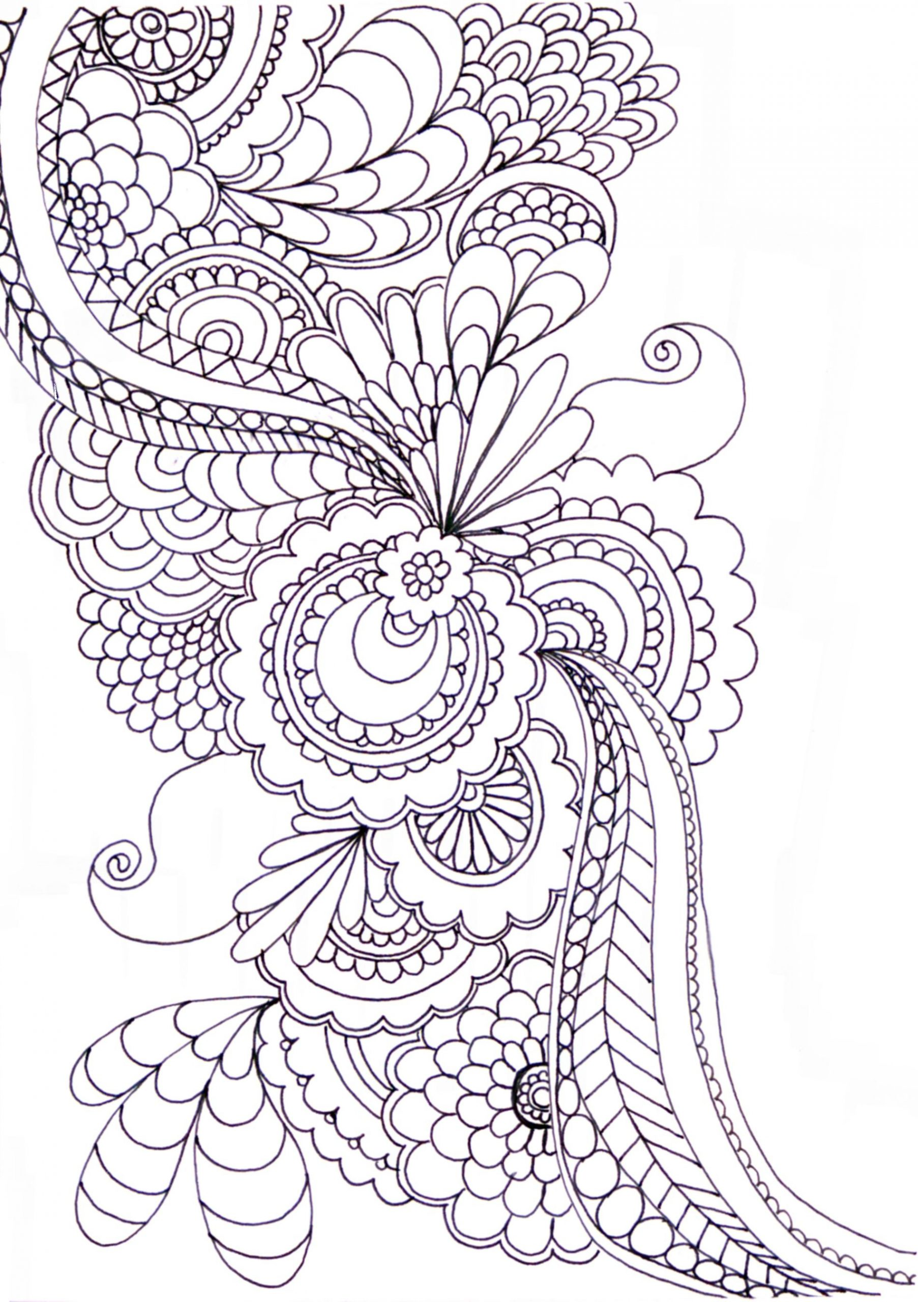 Zentangle - Overall Ideas | Estampados Zentangle, Páginas innen Schwierige Mandalas Zum Ausmalen Für Erwachsene