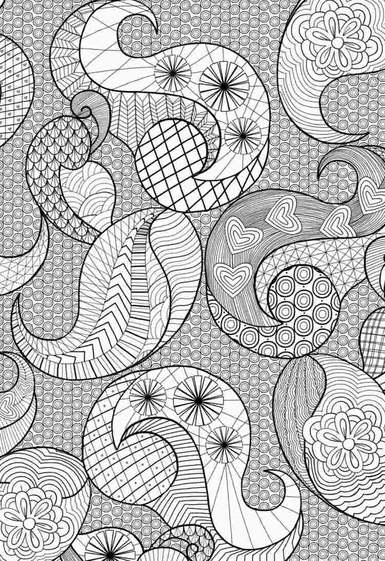 Zentangle Vorlagen Zum Ausdrucken Gratis: 40 Bilder Zum in Muster Zum Malen