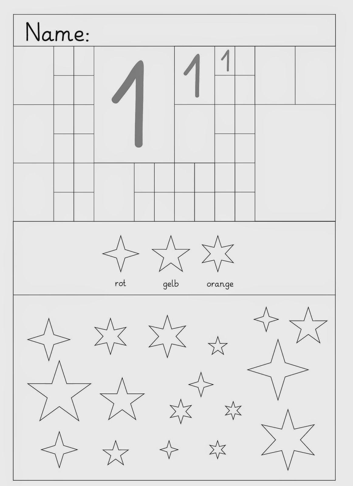 Ziffern Schreiben Und Andere Übungen | Zahlen Schreiben innen Schreiben Lernen Übungen