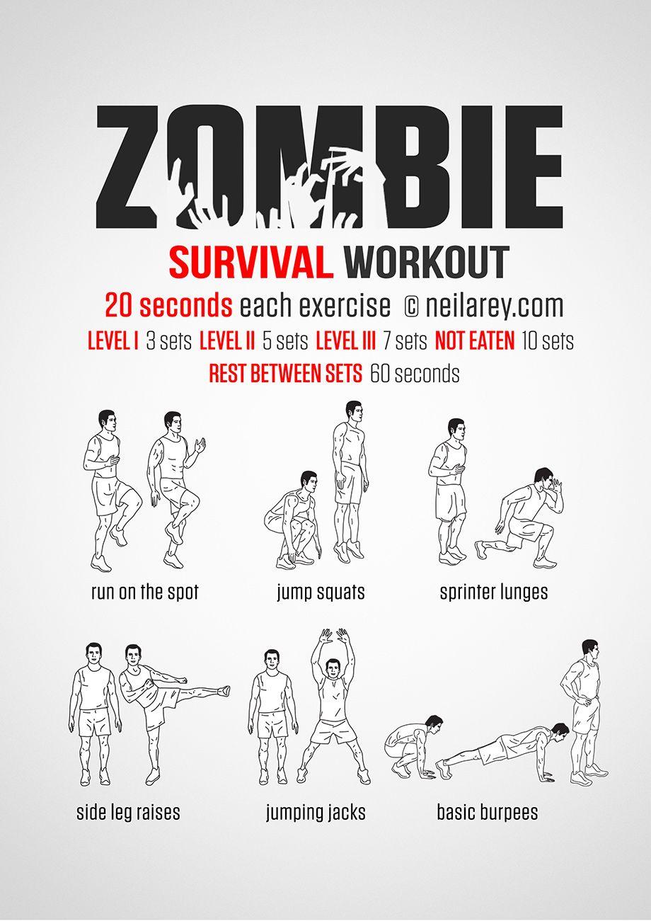 Zombie Apocalypse Survival Workout. This Site Has Lots Of ganzes Zombie Apocalypse Survival Training