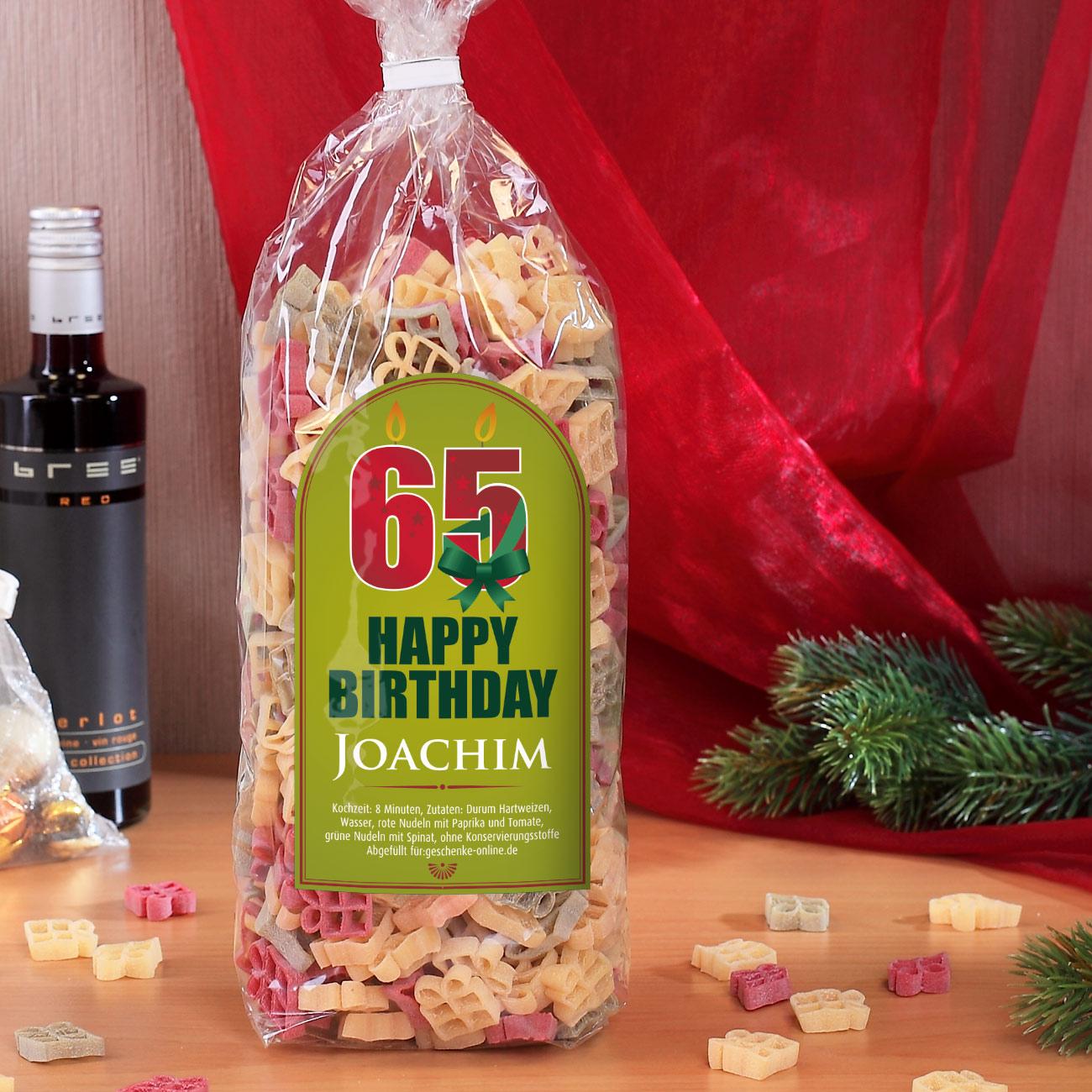 Zum 65. Geburtstag - Happy Birthday Geschenkset innen Geschenke Zum 65 Geburtstag Für Männer