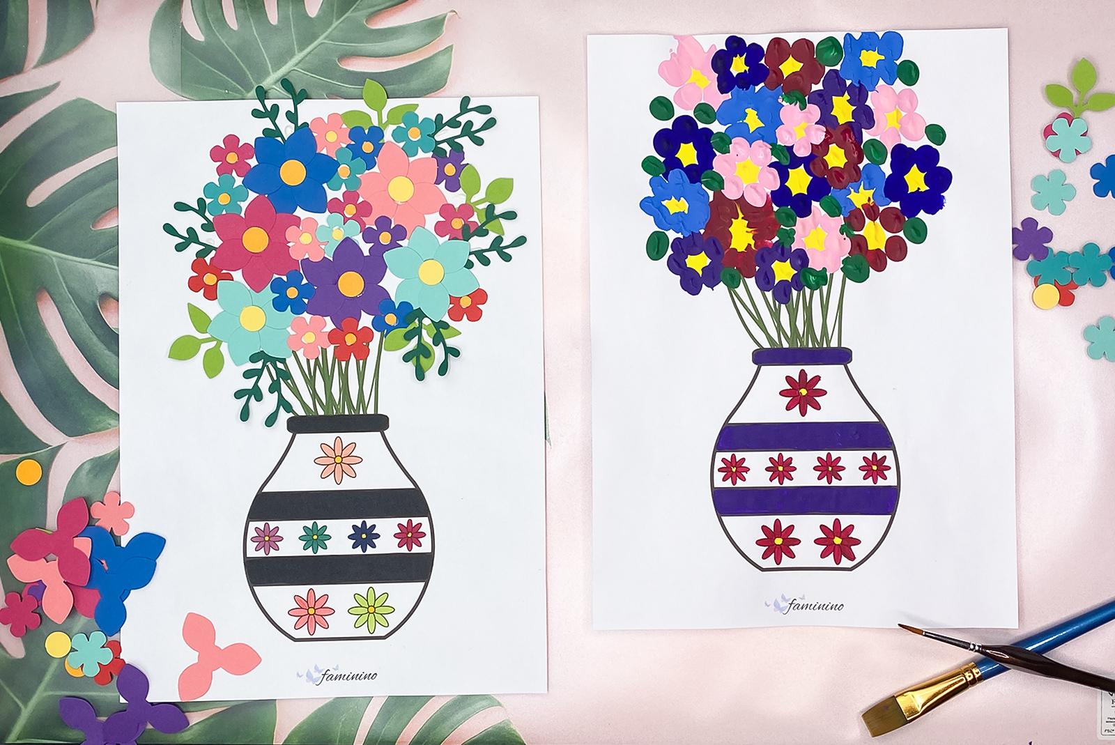 Zum Muttertag Basteln: Kleine Bastelideen Für Den Muttertag innen Muttertagsgeschenk Basteln Kleinkinder
