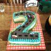 Zweiter Geburtstag Auto Torte   Auto Torte, Cars Kuchen mit Geburtstagskuchen 2 Geburtstag